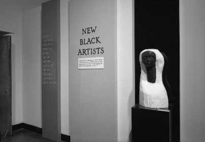 """New Black Artist"" Exhibition, Brooklyn Museum, 1969"