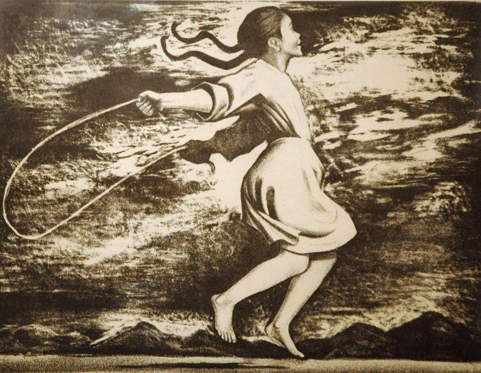 elizabbbeth-catlett-girl-jumping-rope