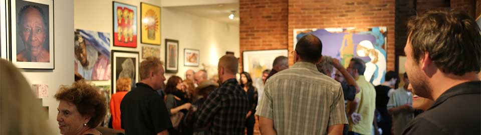 opening reception, Emergence 2014, Galerie Myrtis, photo by artisonjacks.com