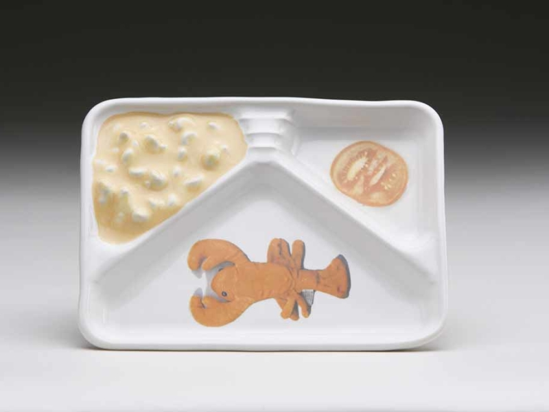 Sue Johnson, Mac & Cheese TV Dinner (lobster with tomato)