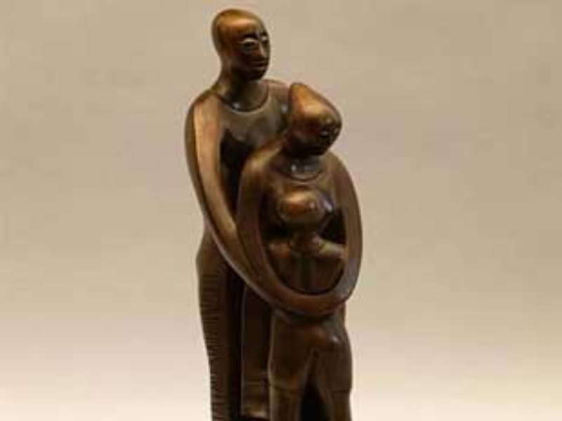 The Family, 2002 by Elizabeth Catlett